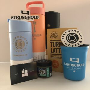 Stronghold Gift Cards, Mugs, and Accessories